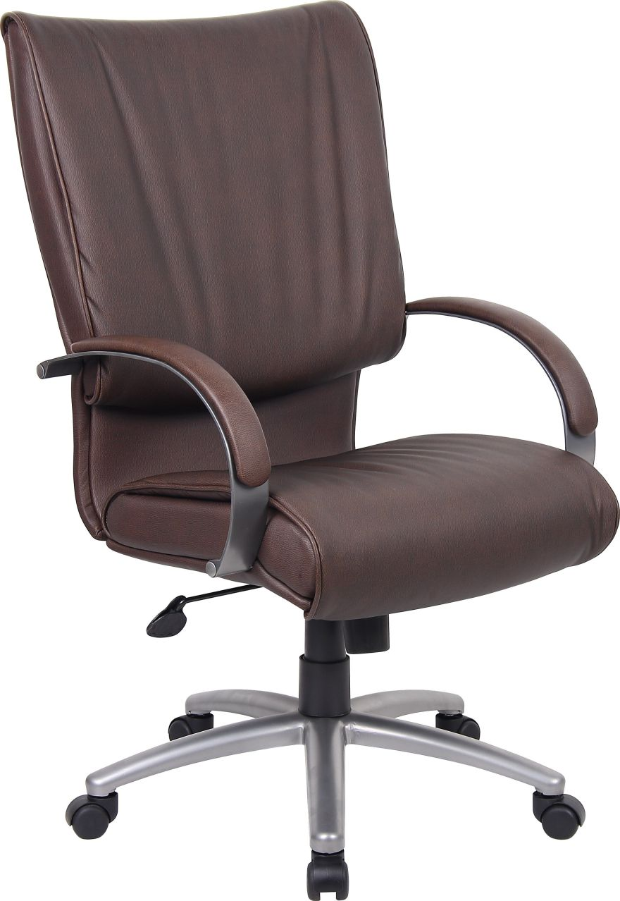 conference-room-chair-brown-leather-chrome