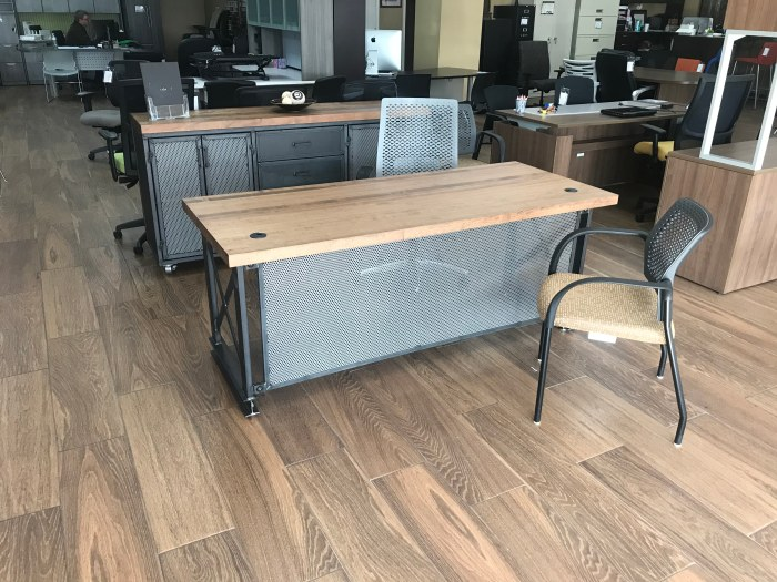 High End Office Desk – Post ModernIndustrial