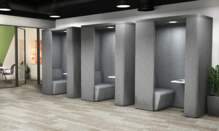 Office Privacy Pods – A Solution for your Open Floor Plan Woes.